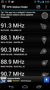 NPR Station Finder- screenshot thumbnail
