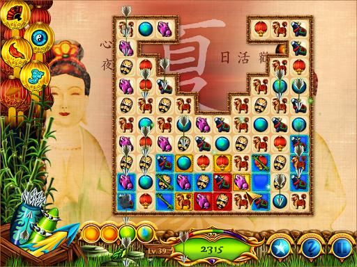 Игра Chinese Dragon - Match 3 для планшетов на Android