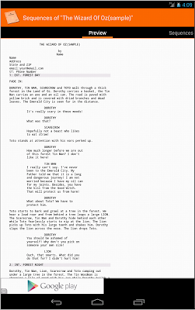 MyScreenplays Pro- screenshot thumbnail
