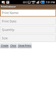 Print Indexer- screenshot thumbnail