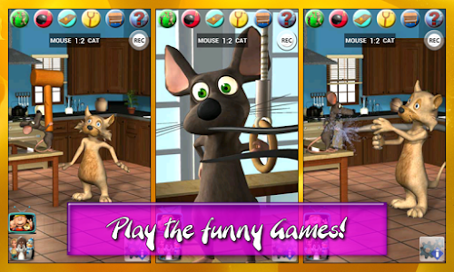 Talking Cat Vs. Mouse Deluxe v1.6