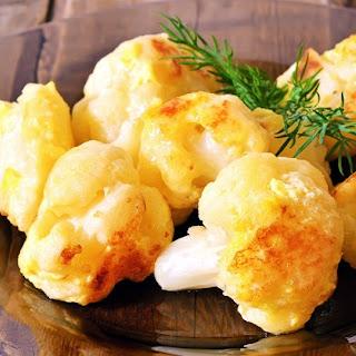 Healthy Cauliflower with Turmeric.