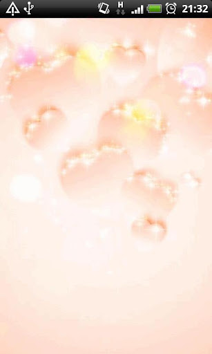 Delicate Pink Hearts LWP