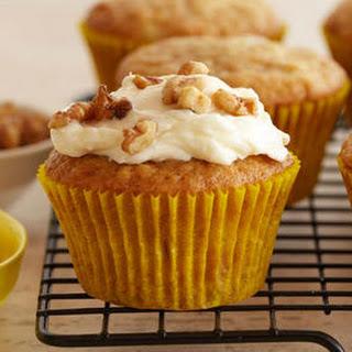 Banana Muffins with Mascarpone Cream Frosting Recipe