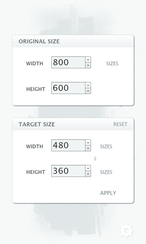 Aspect Ratio Calculator - screenshot