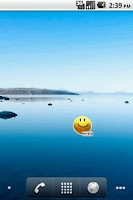 Screenshot of Smile Battery Widget