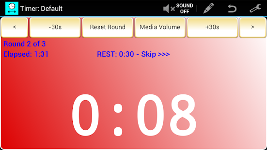 Workout Timer (Free) - screenshot thumbnail