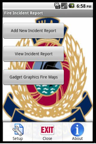 Fire Incident Report Pro- screenshot