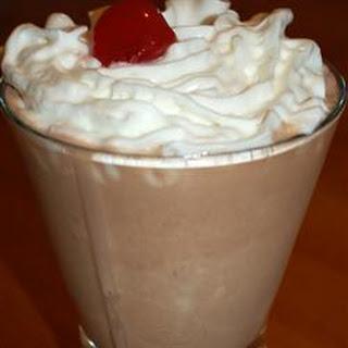 Thick Chocolate Shake.
