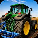 3D Farm Tractor icon