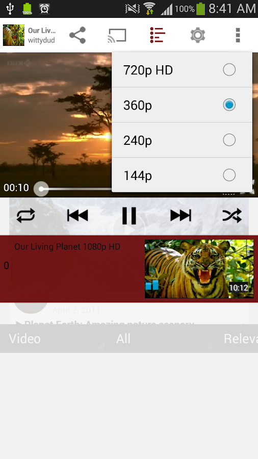 Viral Popup (Youtube Player) - screenshot