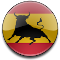 Spanish Bull Flag Widget