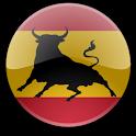Spanish Bull Flag Widget icon
