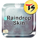 Raindrop Skin for TS Keyboard icon