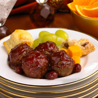 Holiday Cranberry Meatballs.