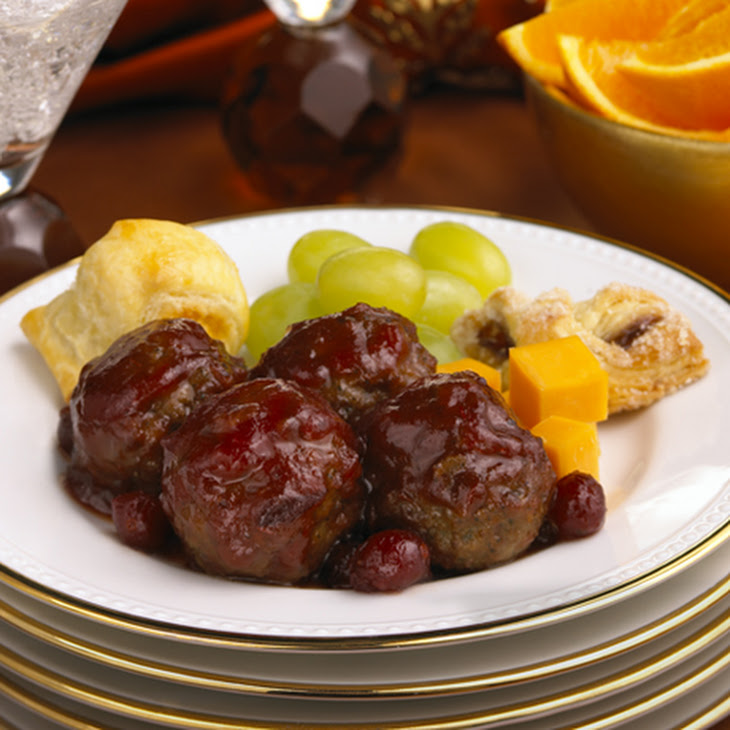 Holiday Cranberry Meatballs Recipe