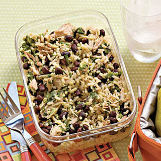 Pork-and-Black Bean Power Lunch.