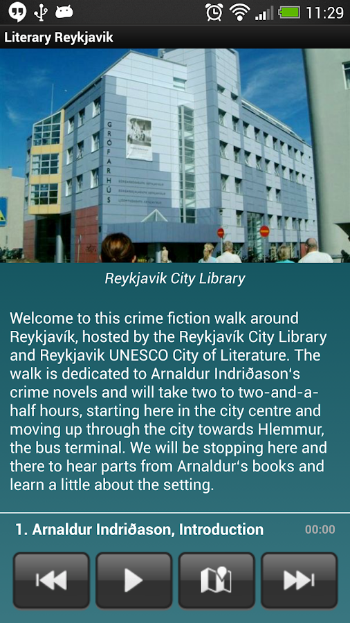 Culture Walks Reykjavík - screenshot
