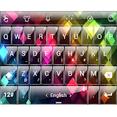 Theme TouchPal Glass Rainbow 2