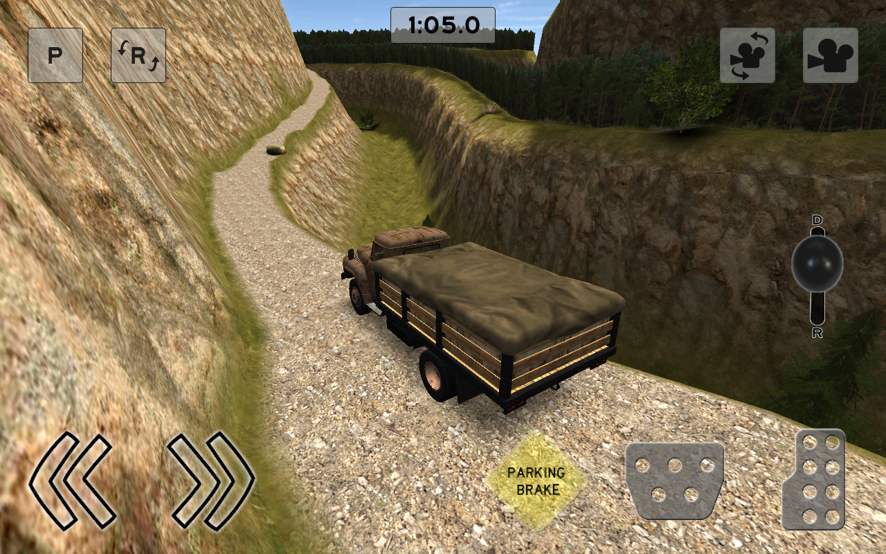 Death Road Trucker- screenshot