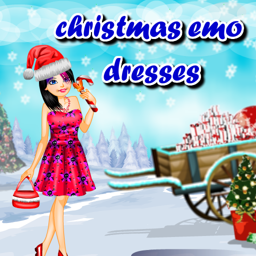 Christmas emo dressup