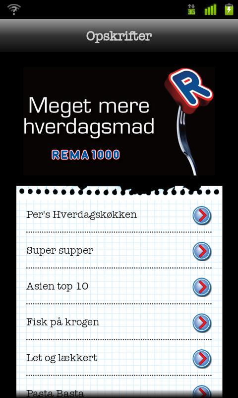 REMA 1000 - screenshot