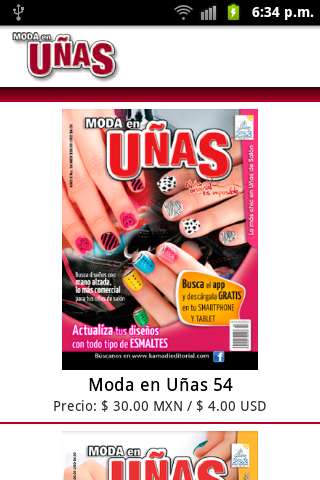 Moda en Uñas - screenshot
