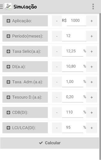 InvestAPP + LCI LCA Renda Fixa