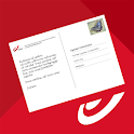 bpost Mobile Postcard icon