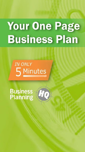 Business Plan in 5 Minutes