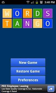 Words Tango