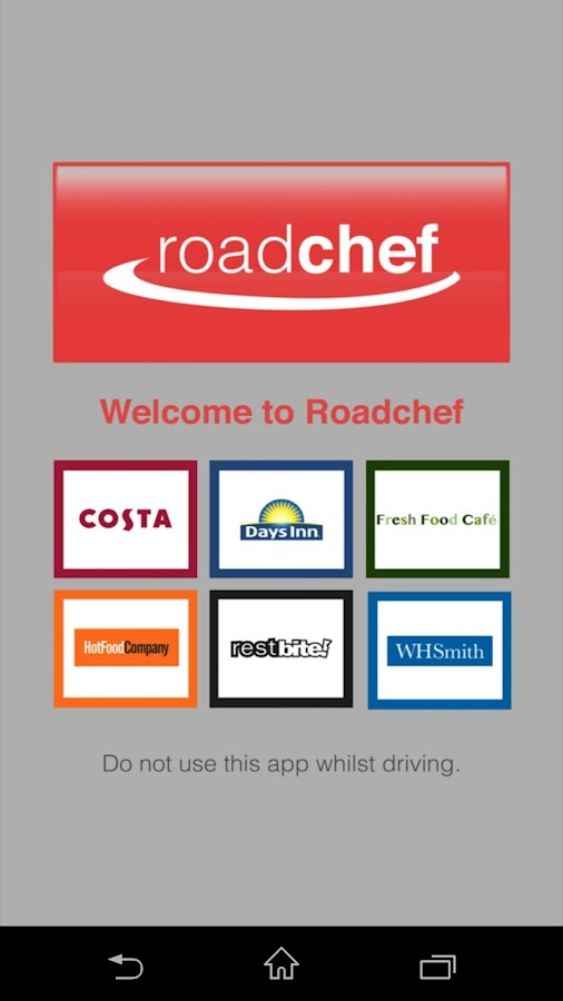 Roadchef Deals- screenshot