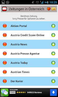 All Newspapers of Austria-Free - screenshot thumbnail