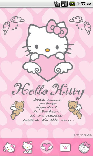 Hello Kitty Angel Love Theme
