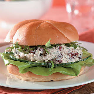 Lemon-Cranberry Tuna Salad Sandwiches.