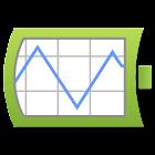 Gráfico + bateria Widget icon