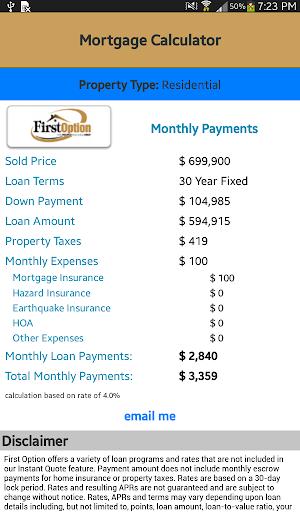【免費生活App】First Option Mortgage-APP點子