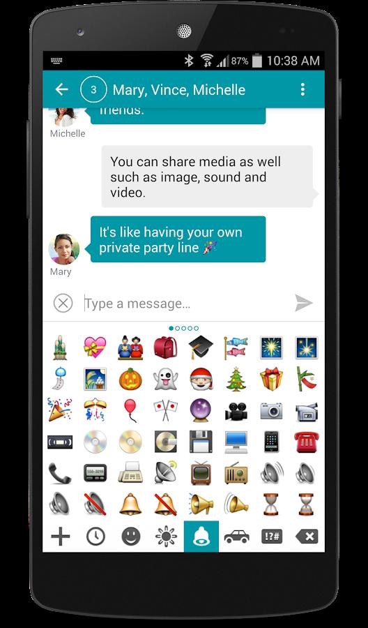 chomp SMS Emojis - screenshot