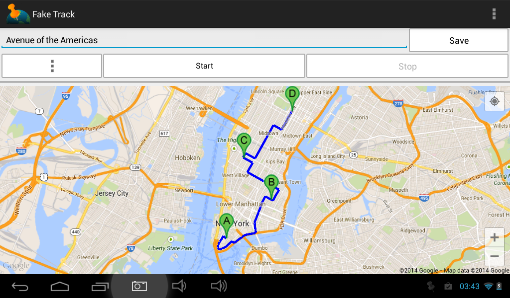 Fake Track Simulate Gps Route Android Apps On Google Play