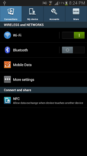 GalaxyS4 Settings for Froyo~JB