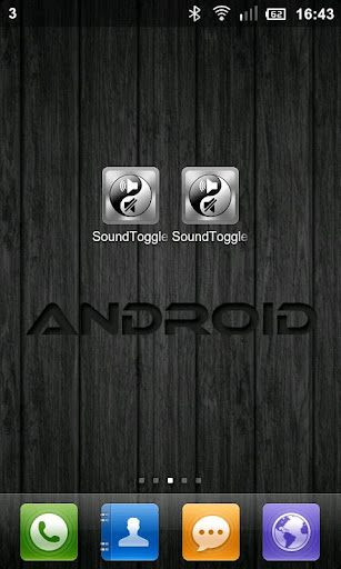 Sound Toggle And Lock FREE