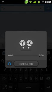 GO Keyboard Voice Changer - screenshot thumbnail