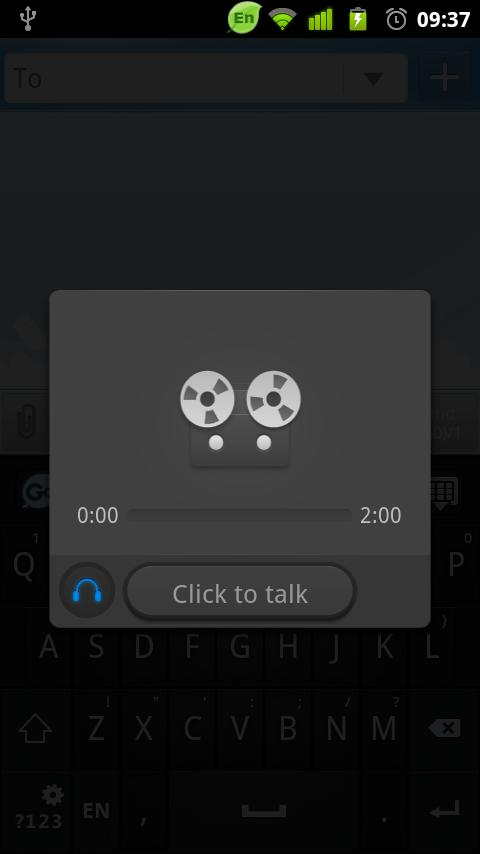GO Keyboard GO Voice Plugin - screenshot