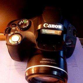 Canon Shot by Rich Havas - Artistic Objects Technology Objects