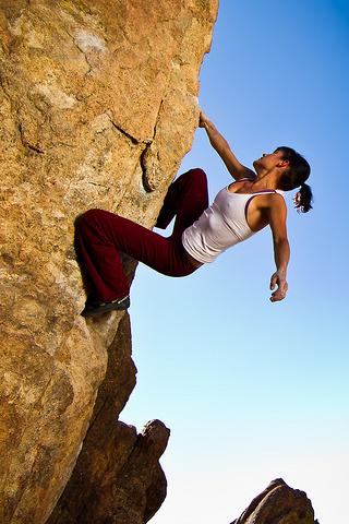 Rock climbing illustrated - screenshot