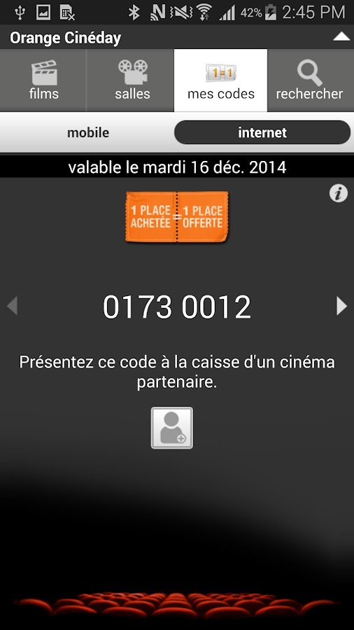 Orange Cineday - screenshot