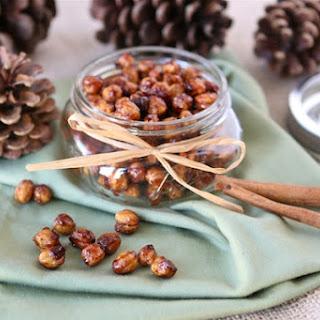 Honey Cinnamon Roasted Chickpeas.