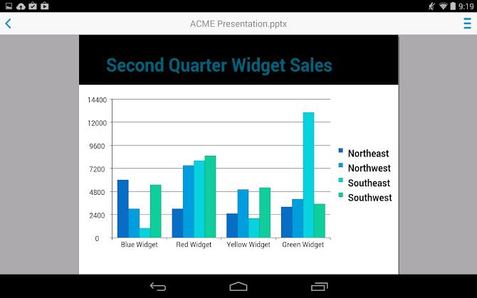 Docs To Go™ Premium Key Android 19