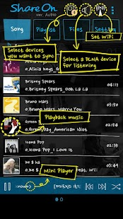 ShareON Audio DLNA MusicPlayer - screenshot thumbnail