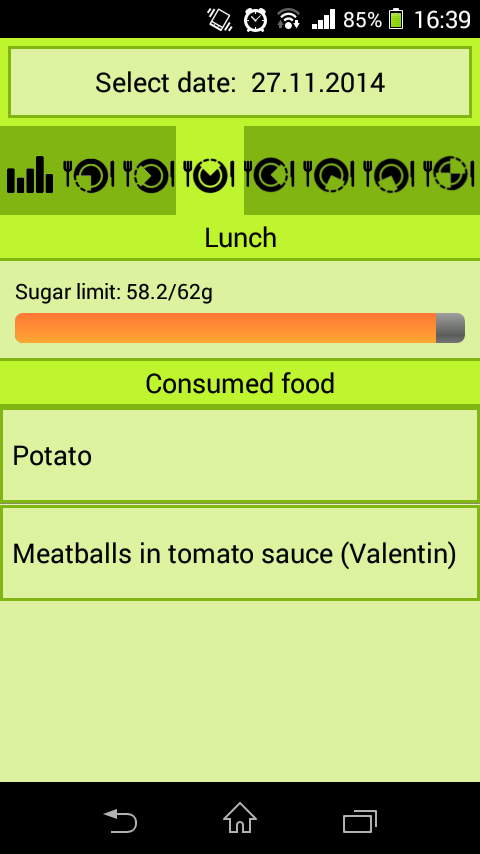 Mobiab Diet- screenshot
